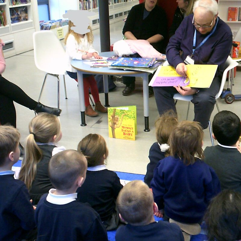 Image of Squirrels Class Library Visit